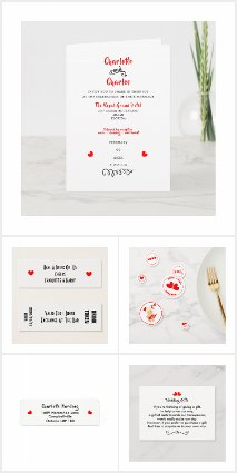 Personalized Wedding Stationery Extras