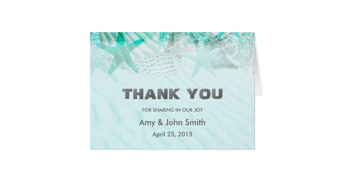 personalized wedding thank you card zazzle
