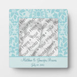 Personalized Wedding Tile Gift & Keepsake w/ Text Display Plaques