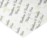 Personalized Wedding Tissue Paper at Zazzle