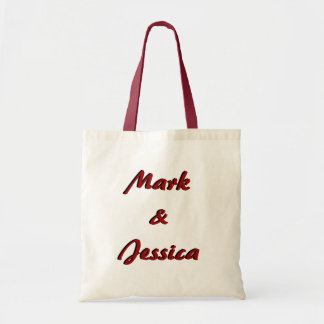 Personalized Wedding Welcome Tote Bag