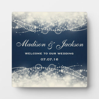 Personalized Welcome to our wedding Plaque