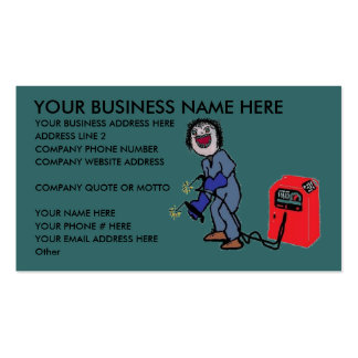 Personalized Welder Business Card