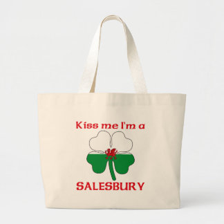 Personalized Welsh Kiss Me I'm Salesbury Bags