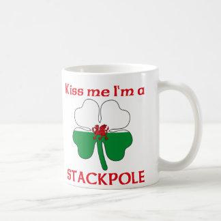 Personalized Welsh Kiss Me I'm Stackpole Coffee Mug