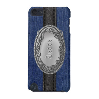 Personalized Western Denim iPod Speck Cases