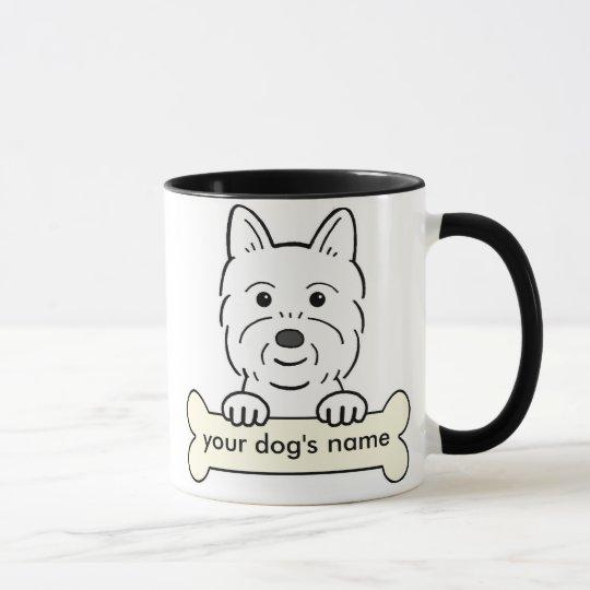 Personalized Westie Mug