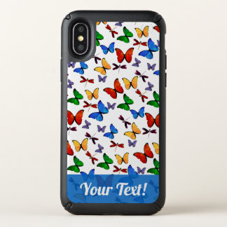 Personalized Whimsical Butterfly Garden Pattern Speck iPhone X Case