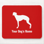 Personalized Whippet ウィペット Mouse Pad