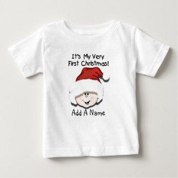 d546f1d7fb96 Customizable Christmas Themed Baby Clothing