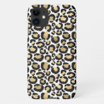 Personalized White & Gold Leopard iPhone 11 Case