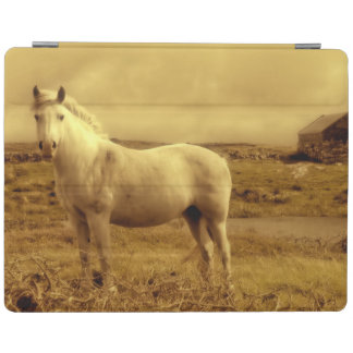Personalized White Horse Photography iPad Smart Cover