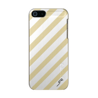 Personalized White Stripes for HER & HIM Incipio Feather® Shine iPhone 5 Case