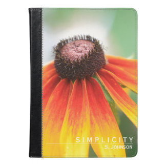 Personalized Wildflower iPad Case / Kindle Case