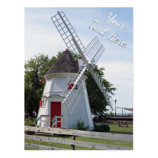Personalized Windmill Post Cards Bulk or Buy 1