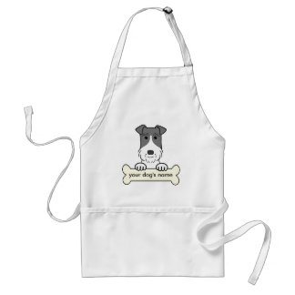 Personalized Wire Fox Terrier Apron