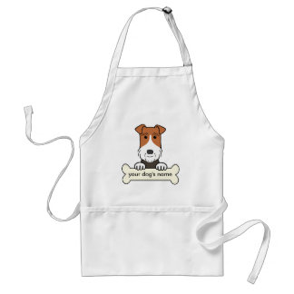 Personalized Wire Fox Terrier Aprons