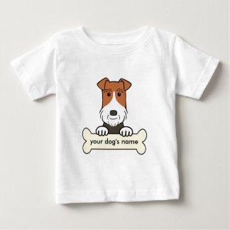 Personalized Wire Fox Terrier Baby T-Shirt