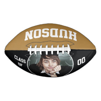 Personalized with name and Year Football