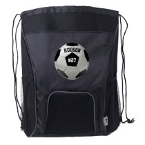 Personalized with Name Number Soccer Backpack