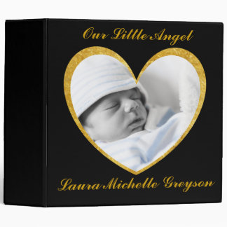 Personalized with Picture Baby Photo Album Binder