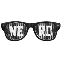 Personalized with your four letter word Easily Retro Sunglasses