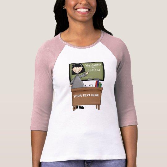 Personalized Woman Teacher T-Shirt