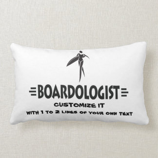 Personalized Women Surfing Throw Pillows