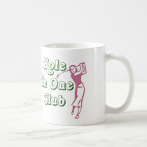 Personalized Womens Golf Hole in One Keepsake Coffee Mug