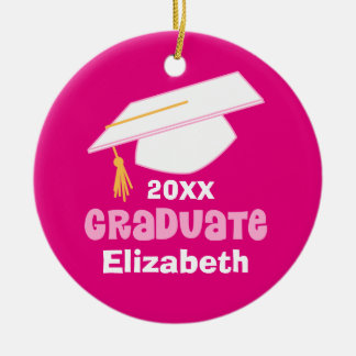 Personalized Womens Graduation Ornament Keepsake