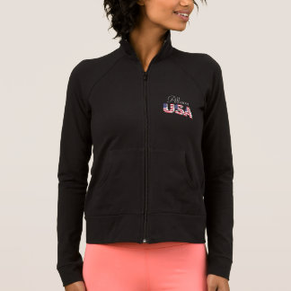 Personalized Women's Practice Jacket/USA Jacket