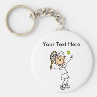 Personalized Women's Tennis Shirts Keychain