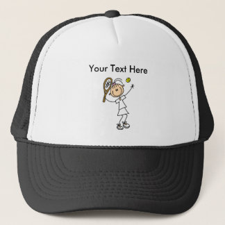 Personalized Women's Tennis Shirts Trucker Hat