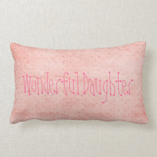 Personalized Wonderful Daughter Teen Girl Gift Joy Throw Pillows