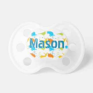 Personalized Woodland Creatures Pacifier