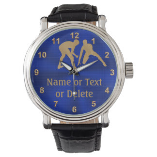 Personalized Wrestling Watches for Wrestler, Coach