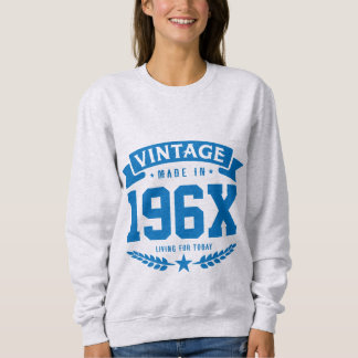 Personalized Year Vintage 1960's Birthday Sweatshirt