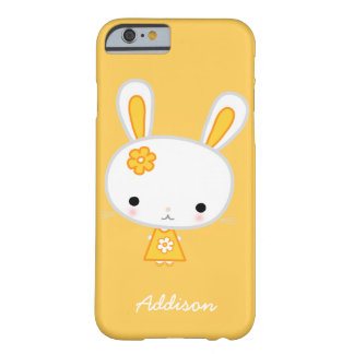 Personalized Yellow Bunny iPhone 6 Case