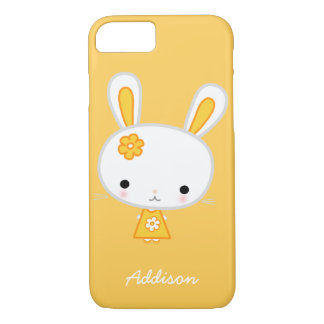 Personalized Yellow Bunny iPhone 7 Case