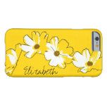 Personalized Yellow Daisy Chain Barely There iPhone 6 Case