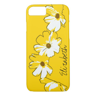 Personalized Yellow Daisy Chain iPhone 7 Case