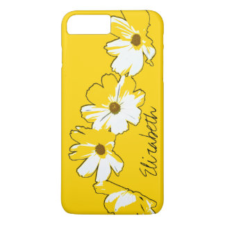 Personalized Yellow Daisy Chain iPhone 7 Plus Case