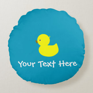 Personalized Yellow Ducky Pillow