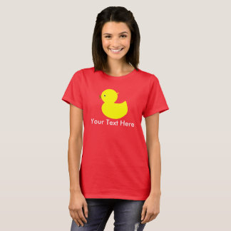 Personalized Yellow Ducky T-Shirt