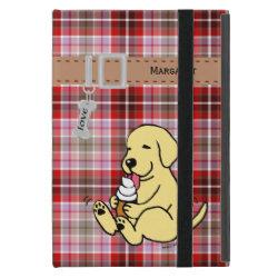 Powis iCase iPad Mini Case with Kickstand with Labrador Retriever Phone Cases design