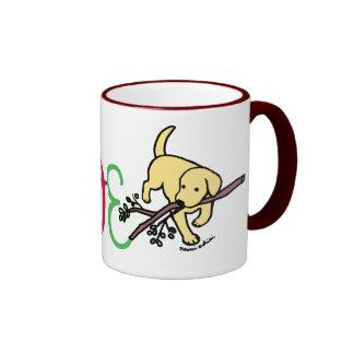Personalized Yellow Labrador Love Mug