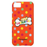 Personalized Yellow Labrador with a full belly iPhone 5C Cover
