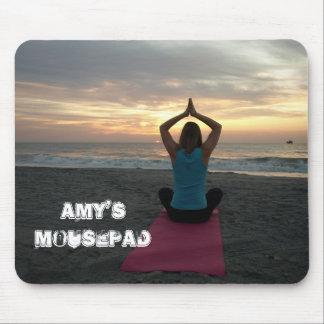 personalized yoga mousepad