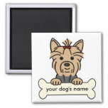 Personalized Yorkie Magnet