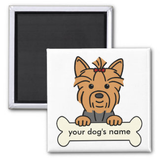 Personalized Yorkie Refrigerator Magnets